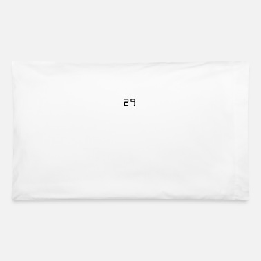 Specific Age 29 twentynine number age birthday - Pillowcase 32'' x 20''