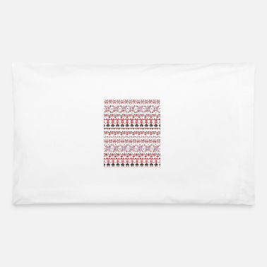 Folk Art Traditional Romanian folk Art motifs 5 - Pillowcase 32'' x 20''