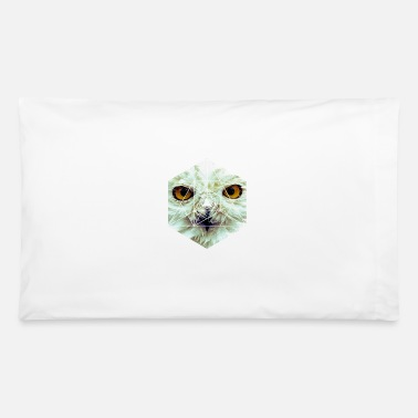 Sumu Lee Snow Owl - Cool Graphic Mysterious Wildlife - Pillowcase