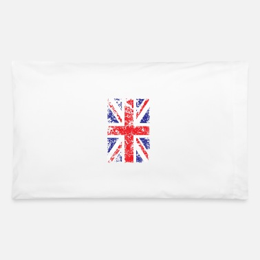 Union Jack Union Jack Vintage Flag United Kingdom Citizen - Pillowcase 32'' x 20''