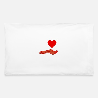 I Heart I Heart Bacon - Pillowcase