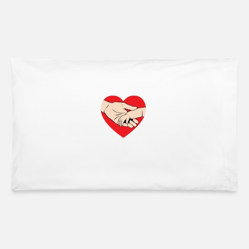 New Dad Fathers Day Gift Dad And Baby Holding Pillowcase