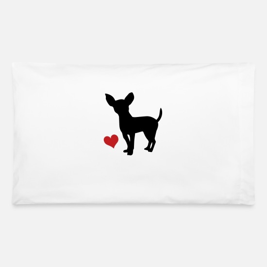 Chihuahua Pillow Cases - chihuahua - Pillowcase 32'' x 20'' white