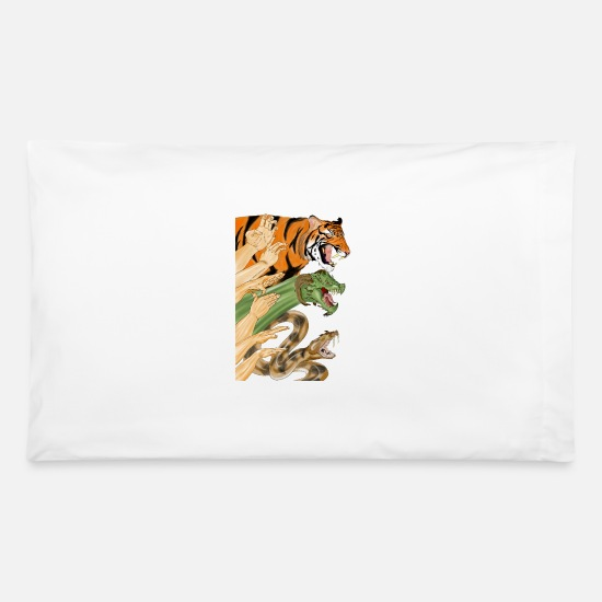 Shaolin Pillow Cases - Shaolin Form - Pillowcase 32'' x 20'' white