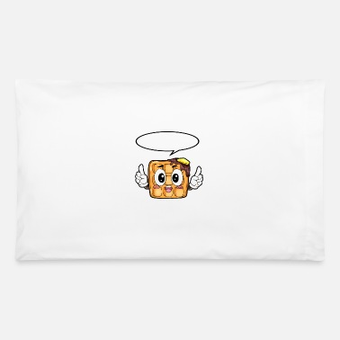 Childhood Waffle Food Gourmet Gift - Pillowcase 32'' x 20''