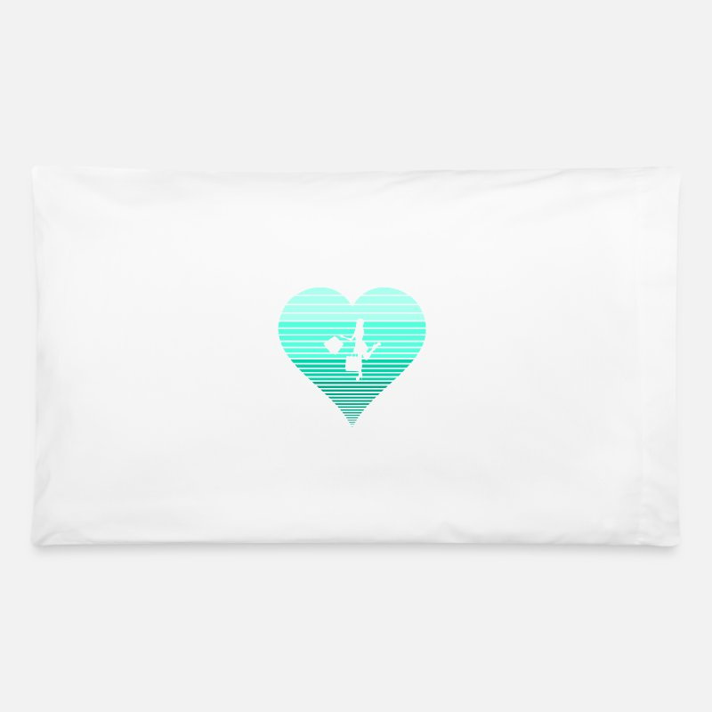 Shopping Frenzy Pillow Cases - Shopping - Pillowcase white