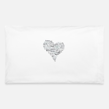 Doctor Travel Cities travel - Pillowcase 32'' x 20''