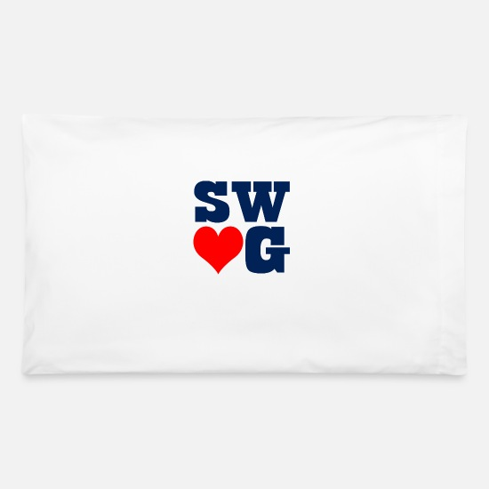 Swag Pillow Cases - swag - Pillowcase 32'' x 20'' white