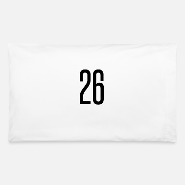 Specific Age tall number 26 - Pillowcase 32'' x 20''