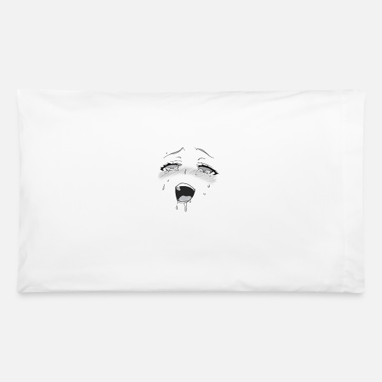 Ahegao Pillow Cases - Ahegao - Pillowcase 32'' x 20'' white