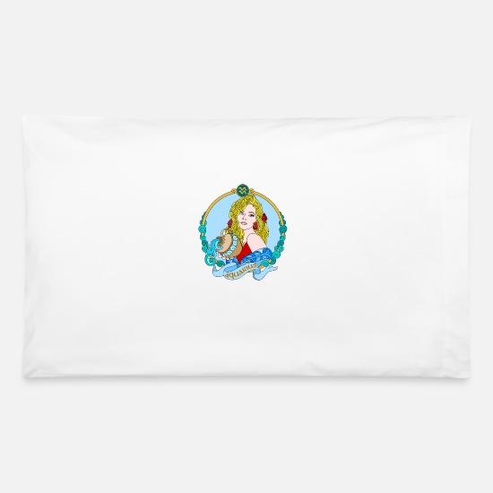 Digital Pillow Cases - AQUARIUS - Pillowcase 32'' x 20'' white