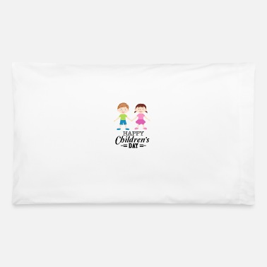 Happy Childrens Day Happy Children Day - Pillowcase 32'' x 20''