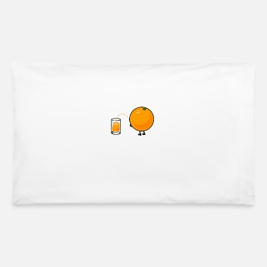 Peeing Orange Pee - Pillowcase 32'' x 20''