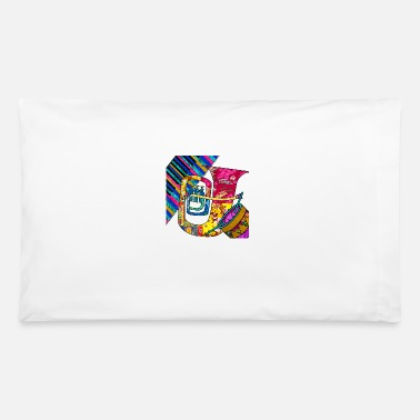 60s Retro Music Groove - Pillowcase 32'' x 20''