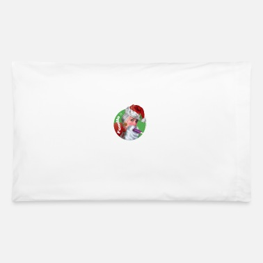 Suggestive Santa Sucks: Fondle it - Pillowcase 32'' x 20''