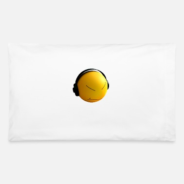 Earphones Ball with earphones - Pillowcase 32'' x 20''
