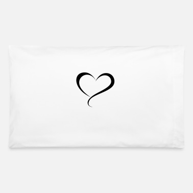 Allowed heart - Pillowcase 32'' x 20''