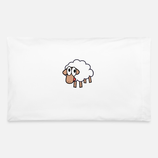 Derp Pillow Cases - Sheepie Shirt - Pillowcase 32'' x 20'' white