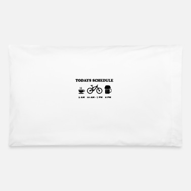 Cycling today schedule - Pillowcase 32'' x 20''