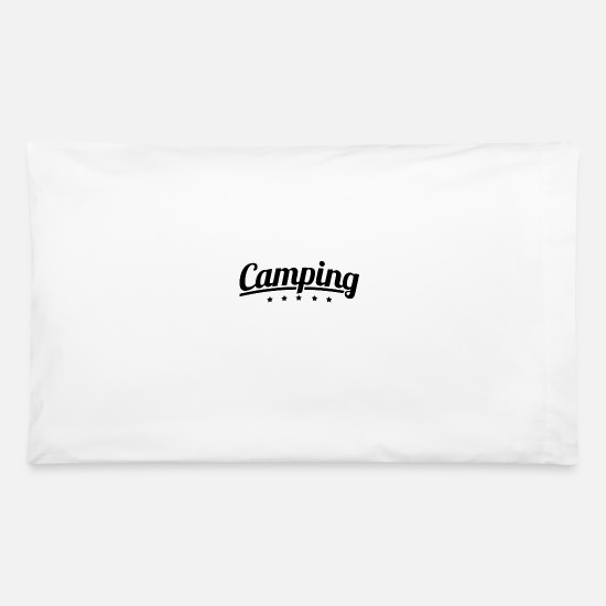 Tent Pillow Cases - caming stars - Pillowcase 32'' x 20'' white