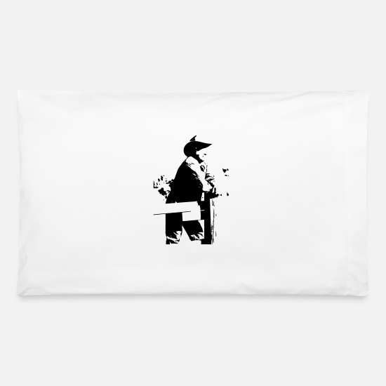 Cowboy Pillow Cases - cowboy - Pillowcase 32'' x 20'' white