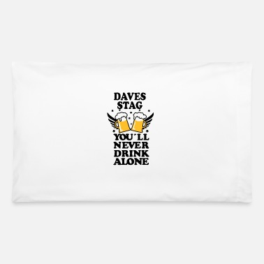 Stag Hen Party Stag DO Hen PARTY HOLIDAY - Pillowcase 32'' x 20''