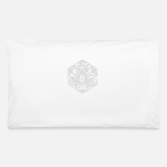 Number Pillow Cases - Number - Pillowcase 32'' x 20'' white