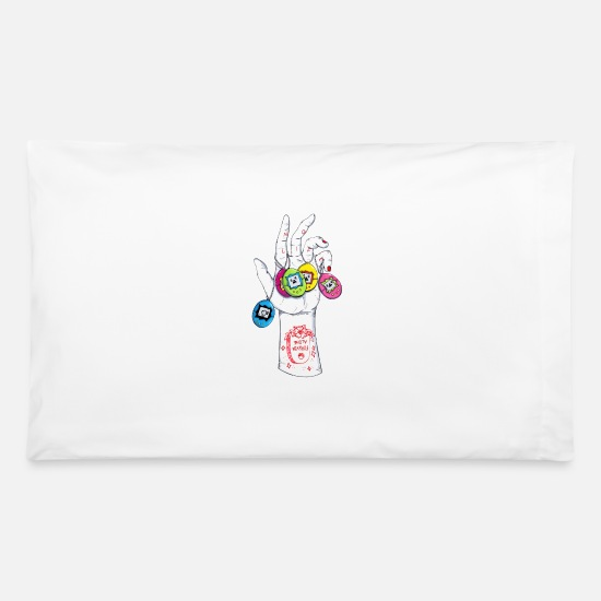 Game Pillow Cases - No Life - Pillowcase 32'' x 20'' white