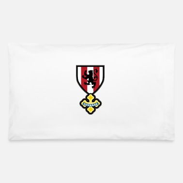 Crest Cowardly crest - Pillowcase
