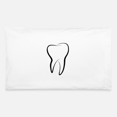 Tooth Tooth - Pillowcase 32'' x 20''