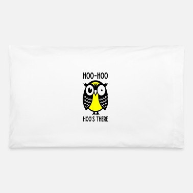 Hoos Cool Owl Hoo Hoo Hoo There 1 - Pillowcase 32'' x 20''