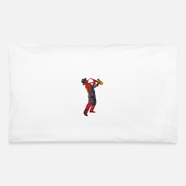 Saxophonist Saxophonist - Pillowcase 32'' x 20''