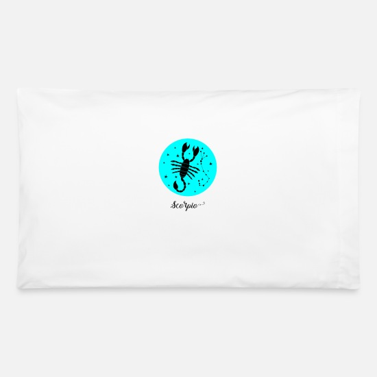 Scorpion Pillow Cases - Scorpio - Pillowcase 32'' x 20'' white