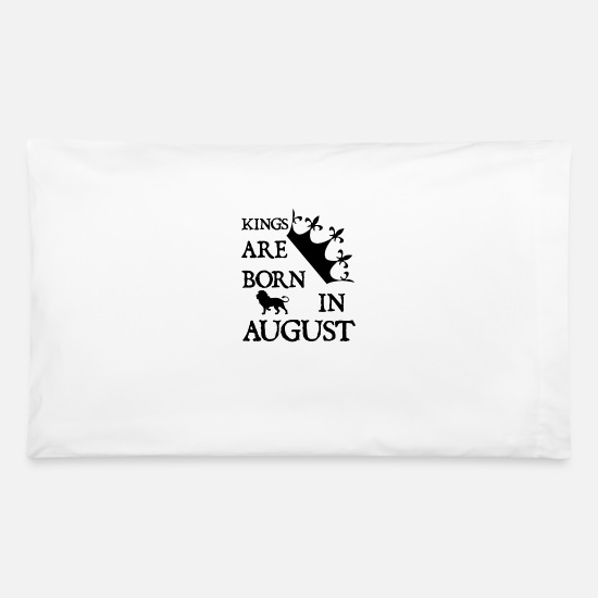 Quotes Pillow Cases - August - Pillowcase 32'' x 20'' white