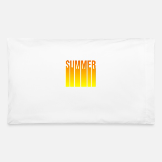 Gift Idea Pillow Cases - Summer Summer Summer - Pillowcase 32'' x 20'' white
