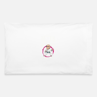 Karate Never Underestimate An Old Man Grandpa Uncle Gift - Pillowcase 32'' x 20''
