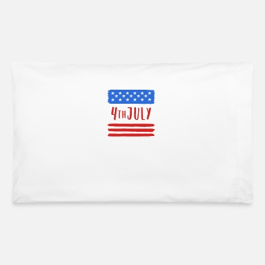 4th 4th of july - Pillowcase 32'' x 20''