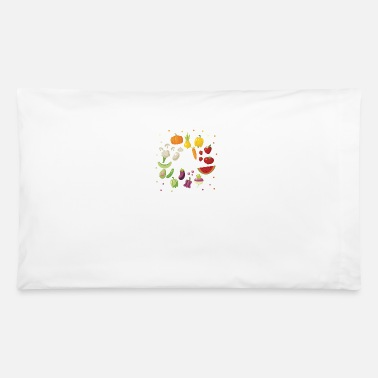 Fruits And Vegetables fruit and vegetables design - Pillowcase 32'' x 20''