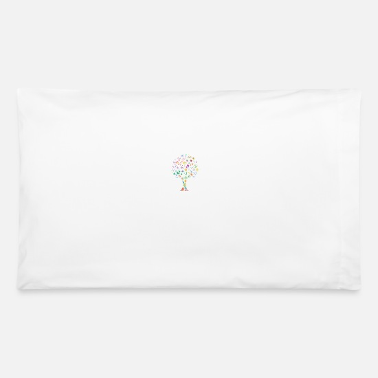 Floral Pillow Cases - floral - Pillowcase 32'' x 20'' white