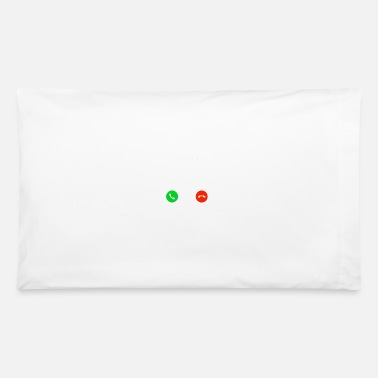 Decline OUR GAINZ ARE CALLING Accept Decline - Pillowcase 32'' x 20''
