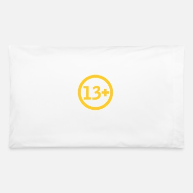 Plus 13 Plus - Pillowcase 32'' x 20''