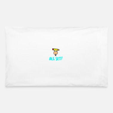 Start School Starts Soon start learning - Pillowcase