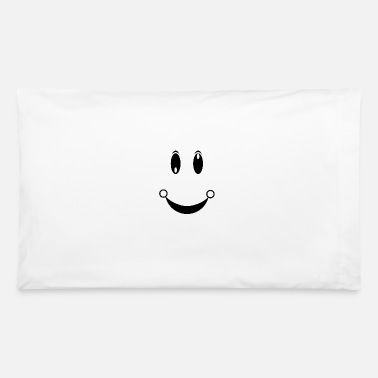 Happy Face happiness face - Pillowcase 32'' x 20''