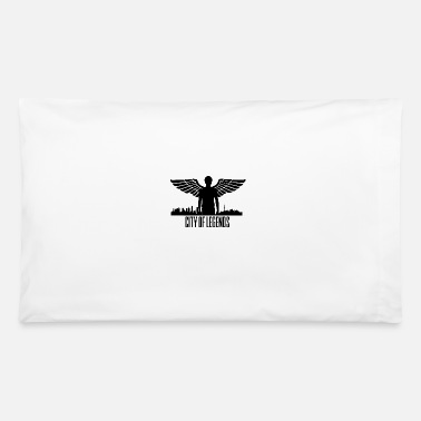 Angelwings City of Legends - Angelwings Skyline - Pillowcase 32'' x 20''