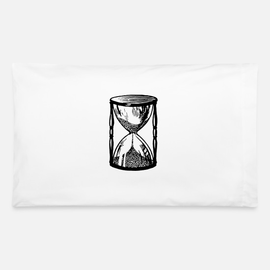 Digital Pillow Cases - Hourglass 12 - Pillowcase 32'' x 20'' white