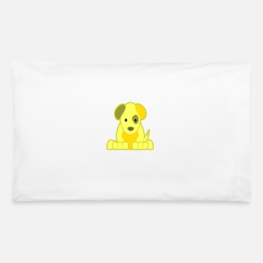 yellow dog - Pillowcase