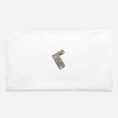 Rectangle Metal Rectangles - Pillowcase