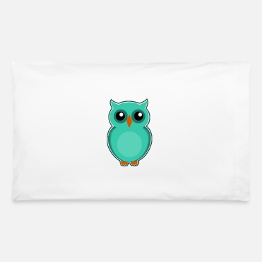 Blue Sky Sky Blue Owl - Pillowcase 32'' x 20''