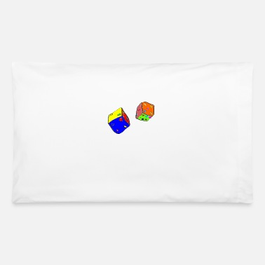 Dice dices - Pillowcase 32'' x 20''