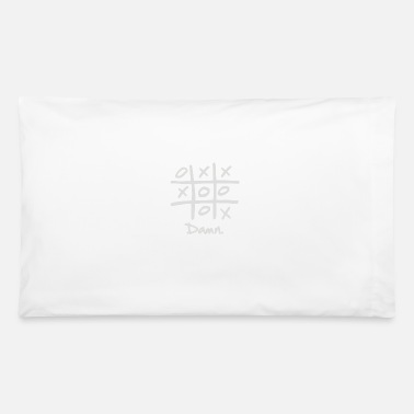 Tic Tac Toe Tic Tac Toe Draw - Pillowcase 32'' x 20''